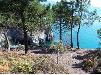 Crozon-Morgat, vue près de l'île Vierge